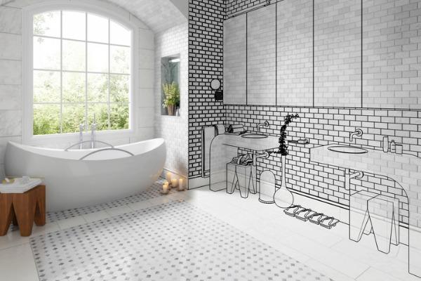 planning dream bathroom