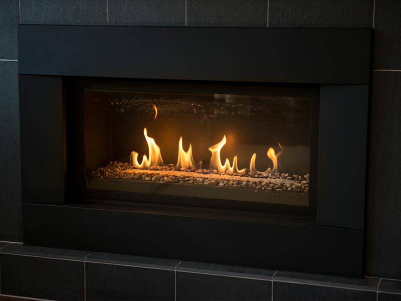 Remodeling a Fireplace with Tile