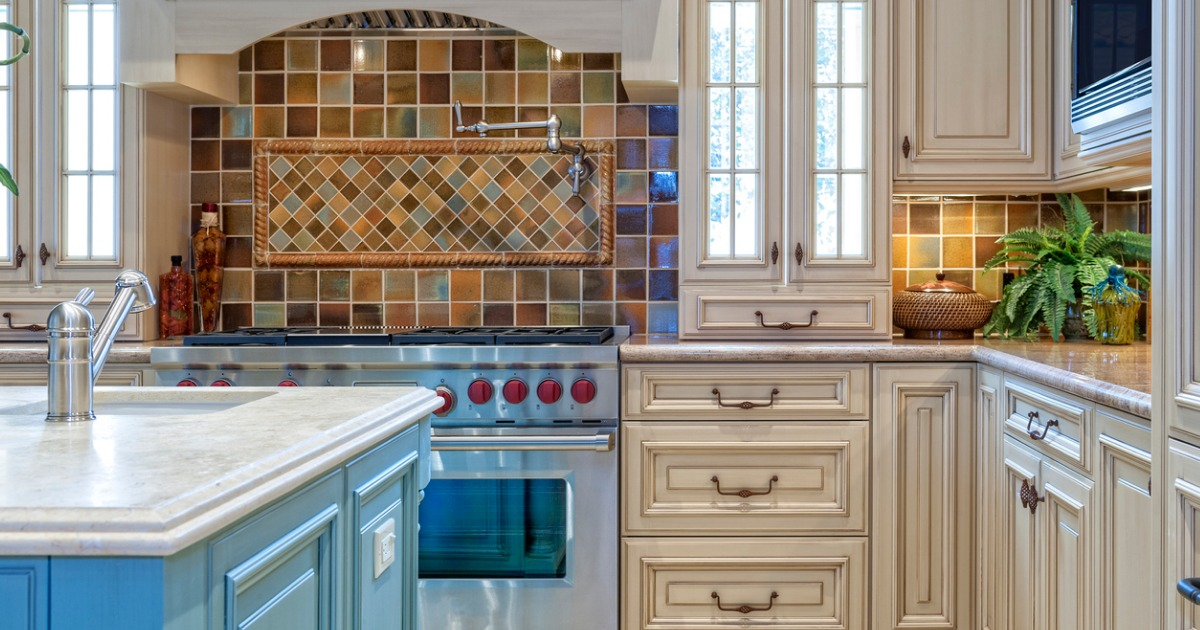 Backsplash is the new wall art