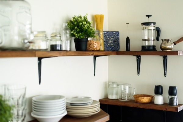 open shelving decor ideas